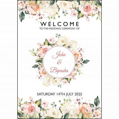 Peach Floral 1 Posters A1.jpg